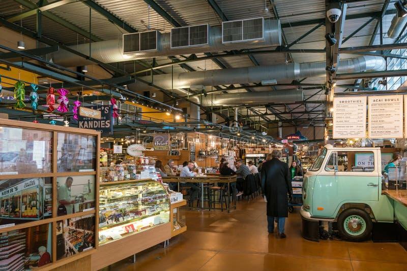 Allgemeiner Markt Milwaukee in USA stockfotografie