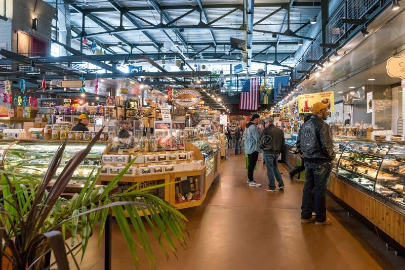 Allgemeiner Markt Milwaukee in USA lizenzfreies stockbild