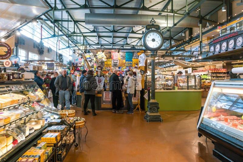 Allgemeiner Markt Milwaukee in USA lizenzfreie stockbilder