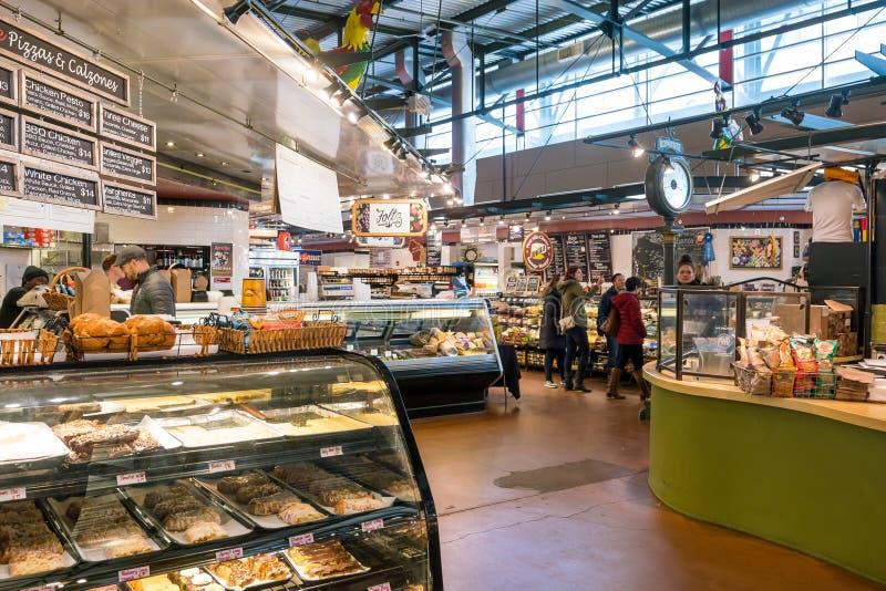 Allgemeiner Markt Milwaukee in USA stockbild