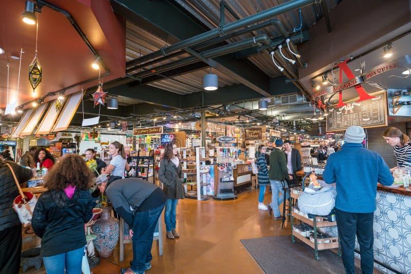 Allgemeiner Markt Milwaukee in USA lizenzfreie stockfotos