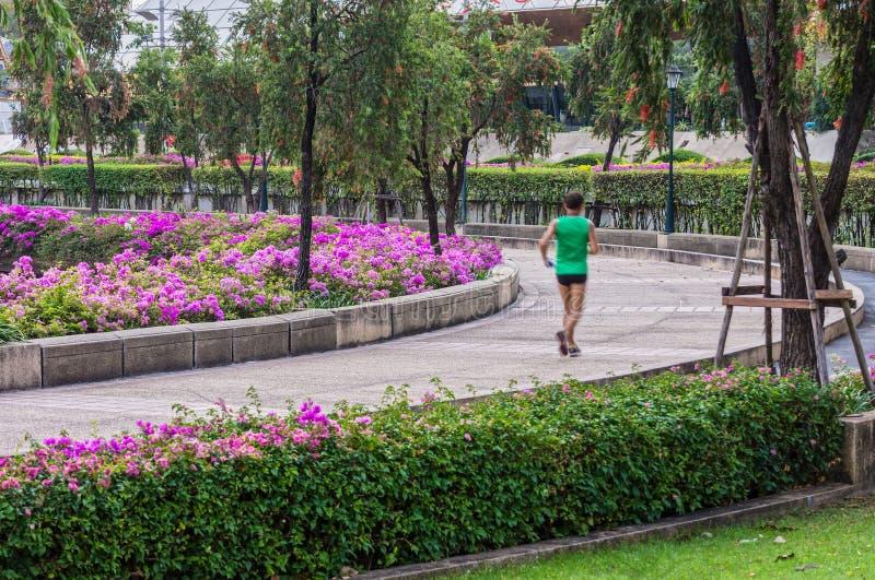 Allgemeiner Park für das Rütteln in Bangkok, Thailand stockbilder