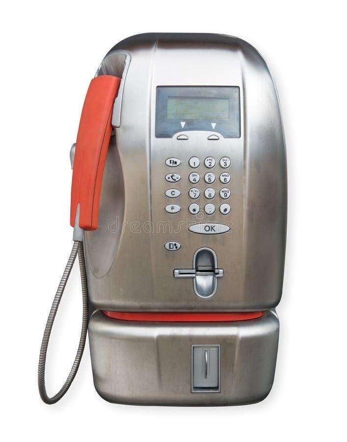 Allgemeines Telefon auf weißem Hintergrund stockbilder
