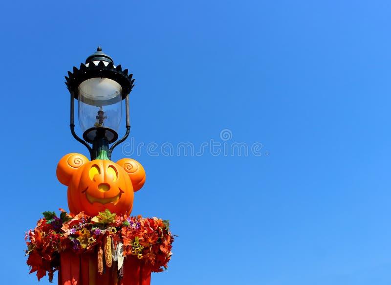 Allhelgonaafton i Disneyland royaltyfri bild