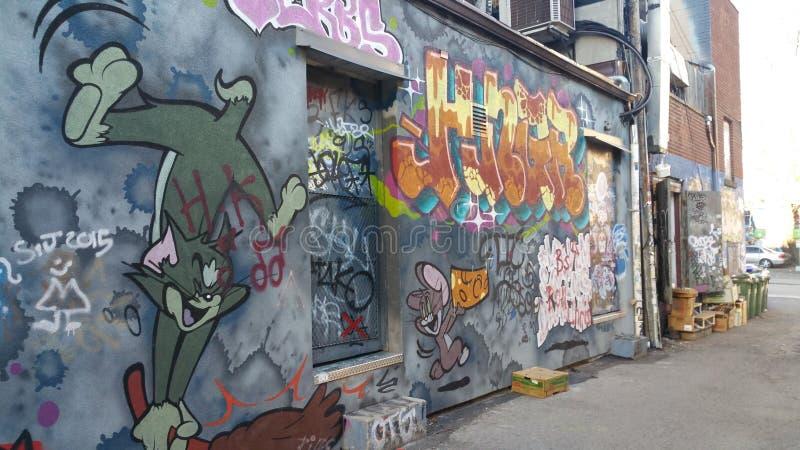 Allié de graffiti images libres de droits