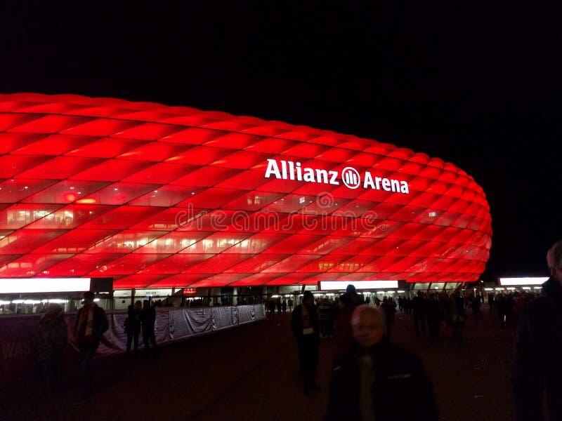 Allianz竞技场 库存图片