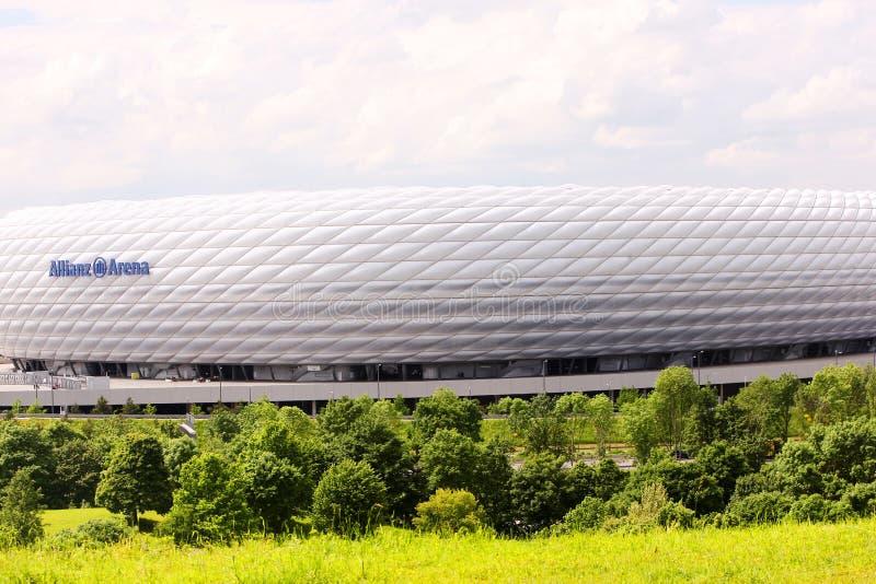Allianz Arena lizenzfreies stockfoto