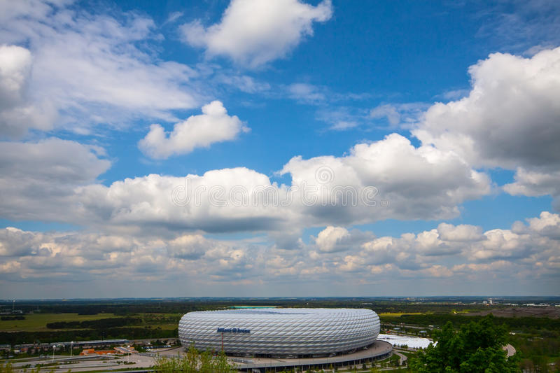 Download Allianz Arena editorial photo. Image of competition, german - 25816976