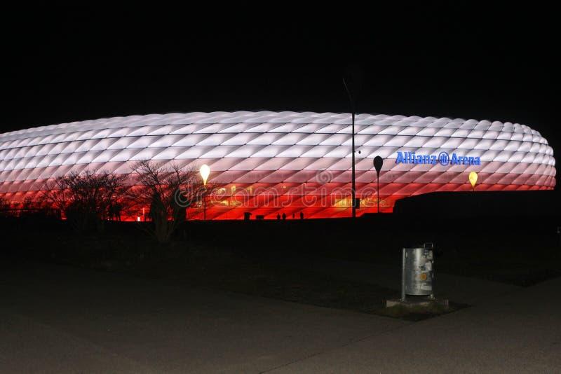 Allianz Arena zdjęcia stock