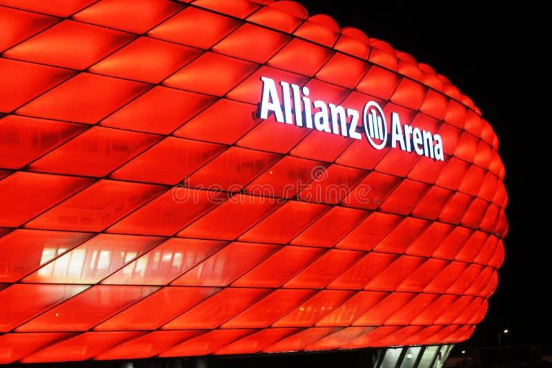 Allianz Arena obrazy royalty free