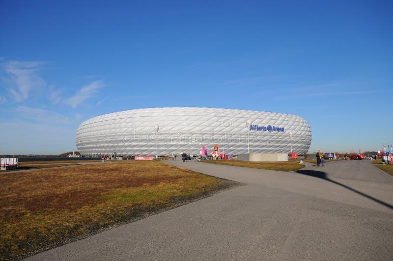 Allianz Arena Bayern München lizenzfreies stockfoto
