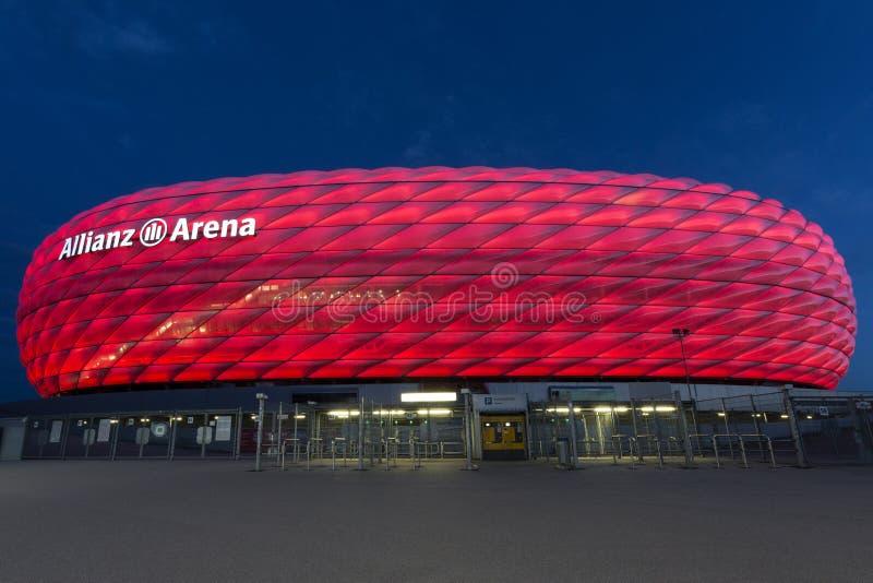 Allianz Arena - Bayern Munich - Germany stock photos