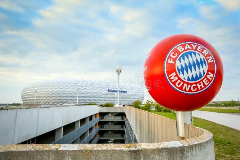 Allianz Arena in Munich editorial stock photo. Image of ...