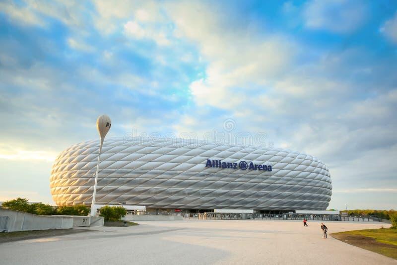Allianz arena w Monachium zdjęcia stock