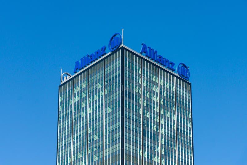 Download The Allianz Complex In Alt-Treptow. Berlin Editorial Stock Image - Image: 40423244