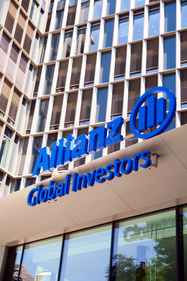 Allianz Global-Investeerders royalty-vrije stock afbeelding