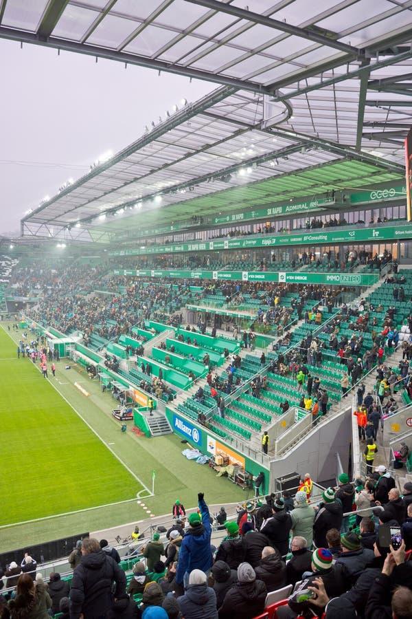 Allianz Stadion en Viena imagen de archivo