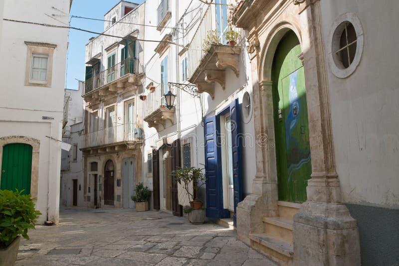 allier Martina Franca Апулия Италия стоковое изображение