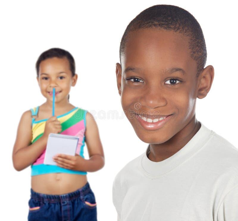 Allievi dei bambini fotografia stock