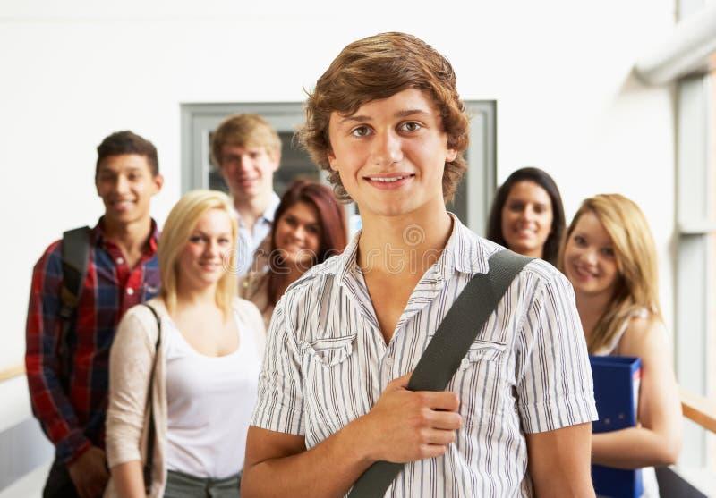 Allievi in istituto universitario immagine stock