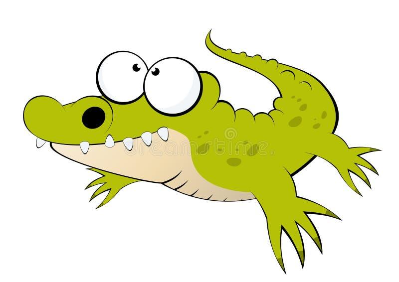 Alligator royalty free illustration