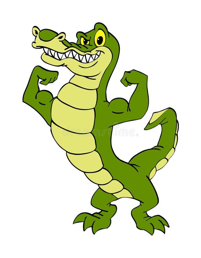 Alligator illustration libre de droits