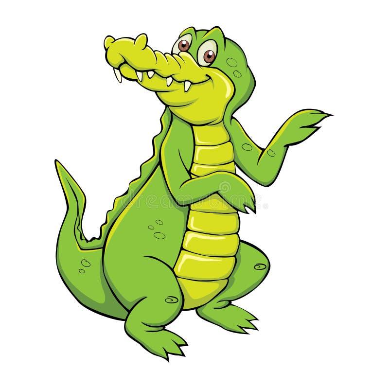 Alligator stock illustrationer