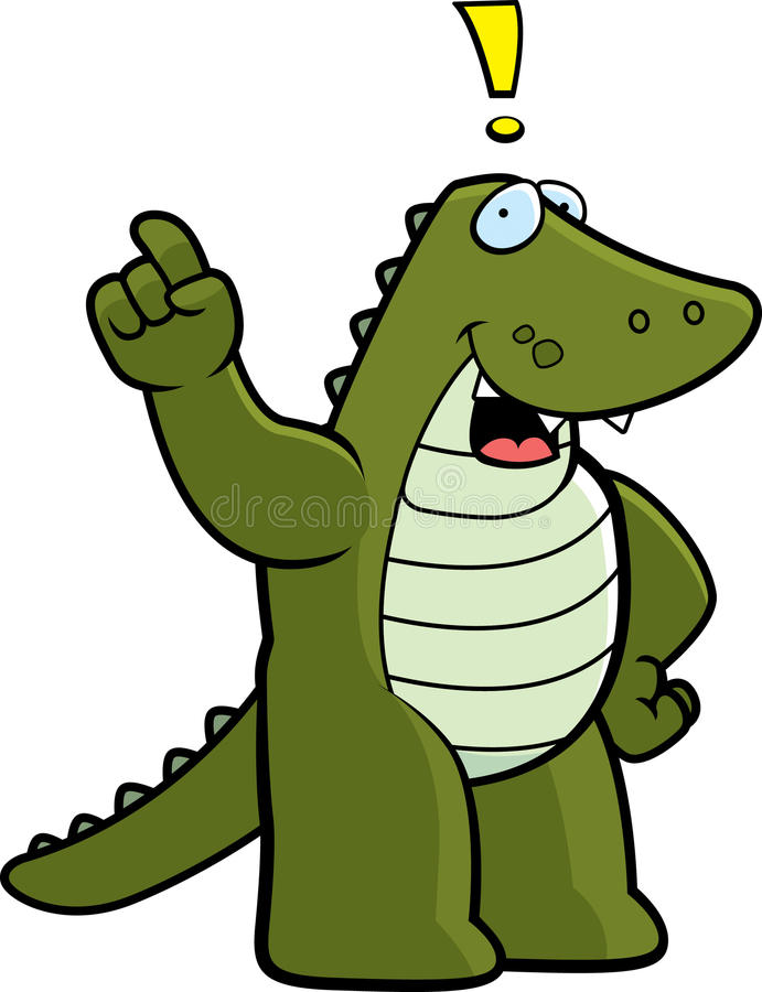 Alligator Idea Stock Photography