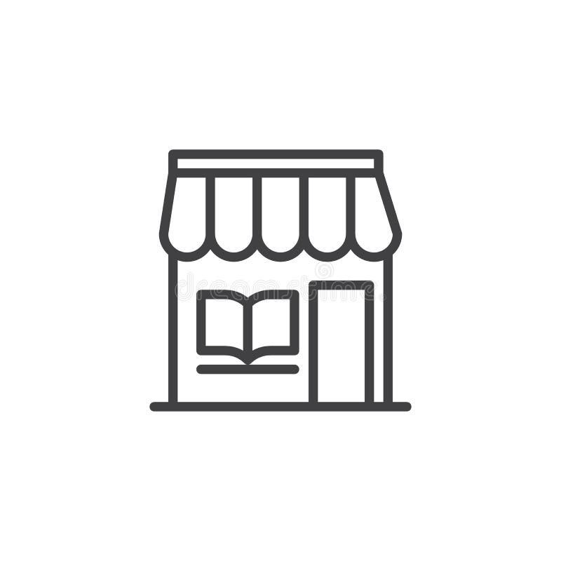 Allineamento dei fabbricati della libreria icona royalty illustrazione gratis
