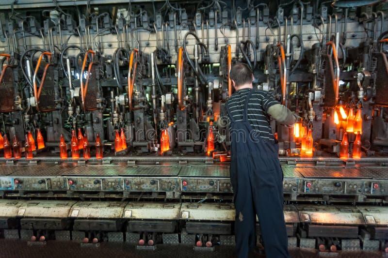 Allini per la produzione delle bottiglie, Tjumen' fotografia stock