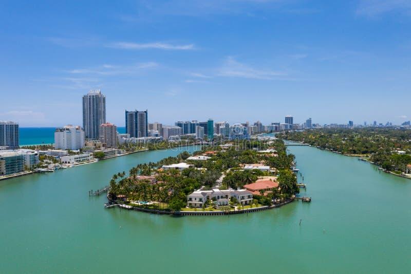 Allison wyspa w Miami plaży fotografia royalty free