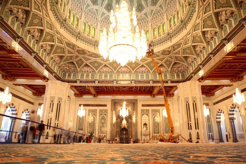 allmän storslagen moskéoman sikt royaltyfri foto