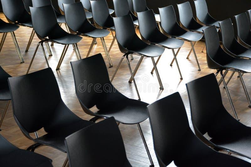 Allocation des places de lieu de réunion images libres de droits