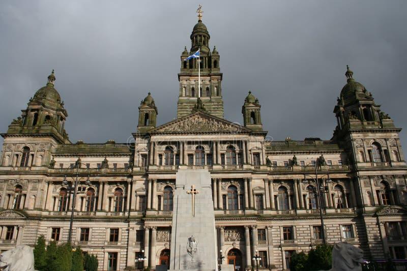 Alloggiamenti della città, Glasgow immagine stock