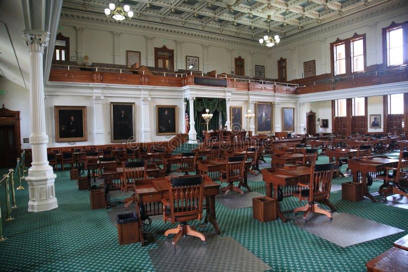Alloggiamento di senato di Austin il Texas immagini stock libere da diritti