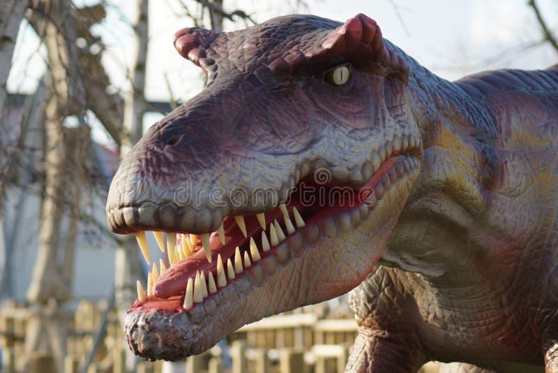 Allosaurus - Allosaurus fragilis στοκ φωτογραφία