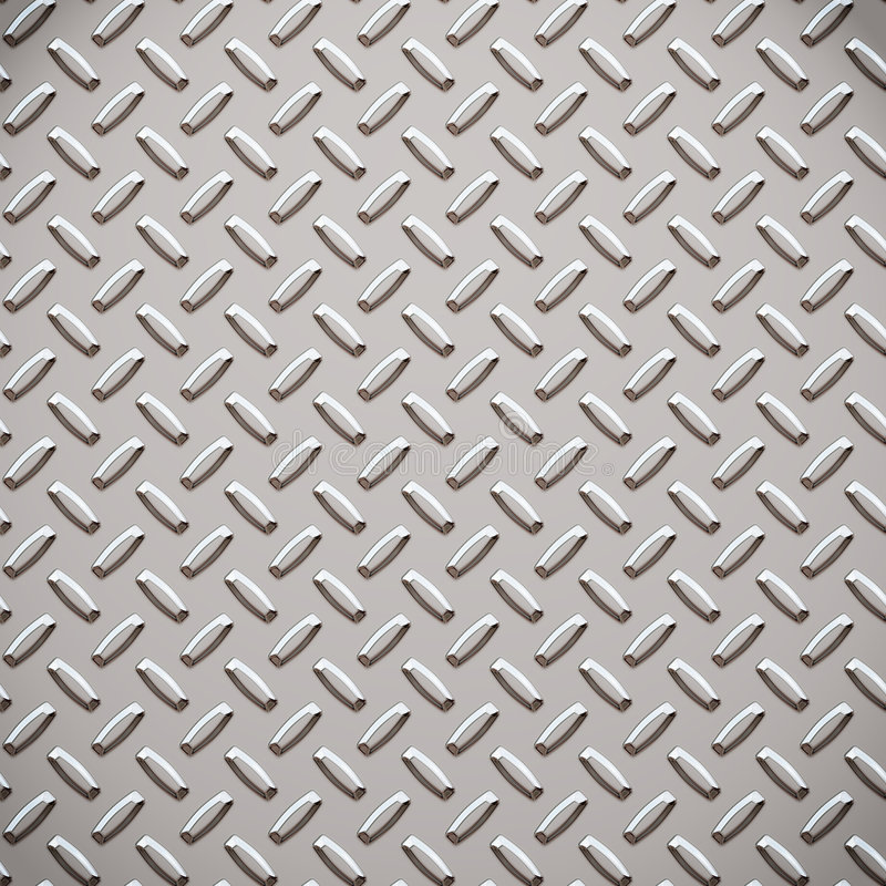 Free Alloy Diamond Plate Metal Stock Images - 2635574