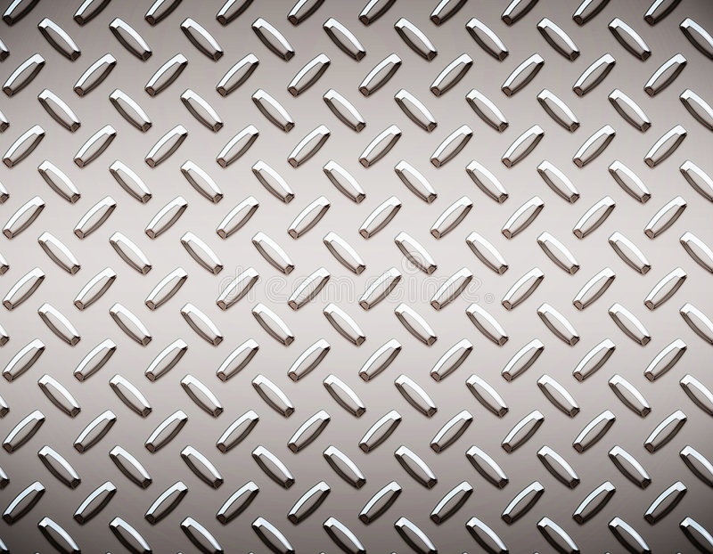 Download Alloy Diamond Plate Metal Royalty Free Stock Images - Image: 3043409