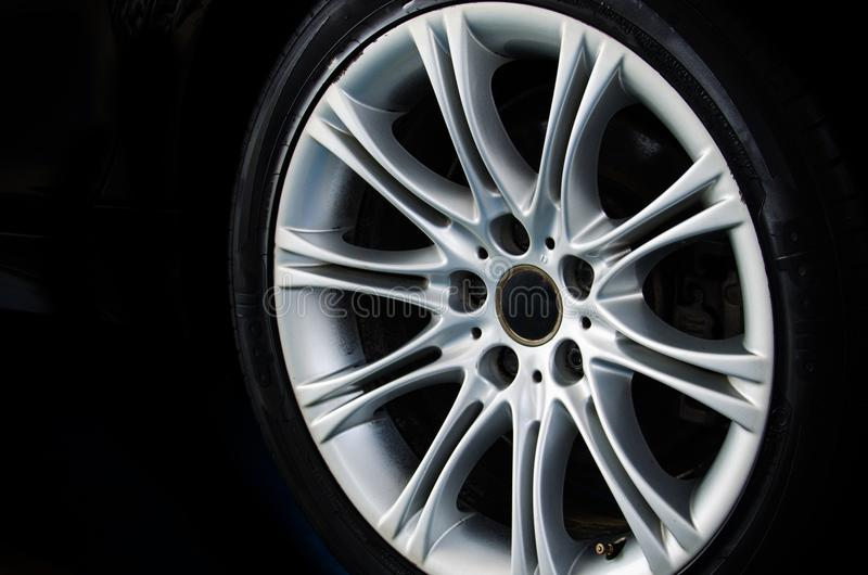 Alloy Wheel car royalty free stock image