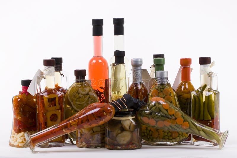 allsort marynowani produktów obrazy stock