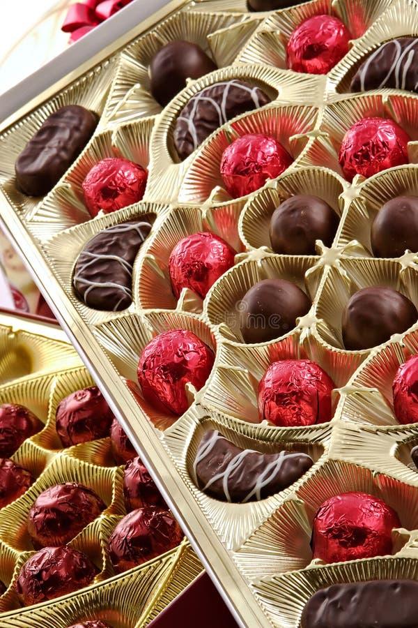 allsorts czekolady obrazy stock