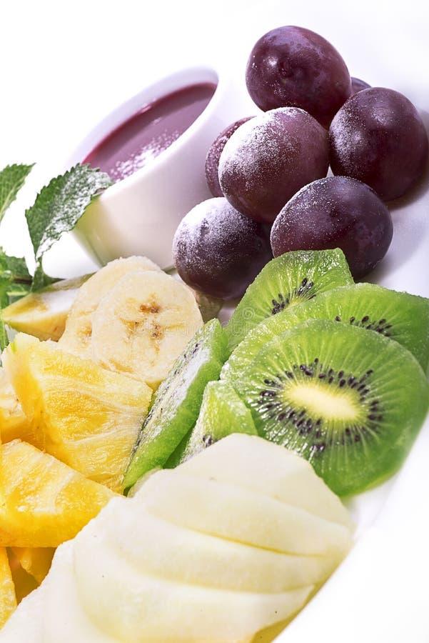Allsorts från frukt royaltyfria foton