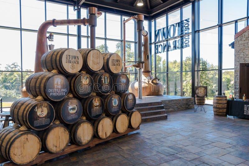 Alltech Lexington Brewing e Distilling Company basata su Lexing fotografia stock