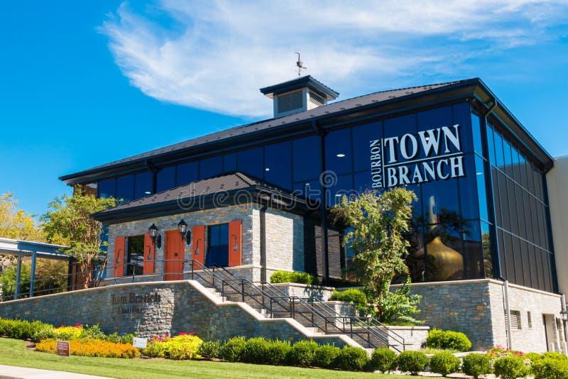 Alltech Lexington Brewing e Distilling Empresa baseada em Lexing foto de stock