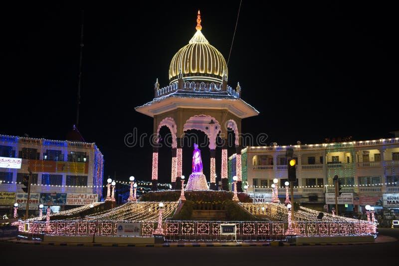 Allumage à Mysore image libre de droits