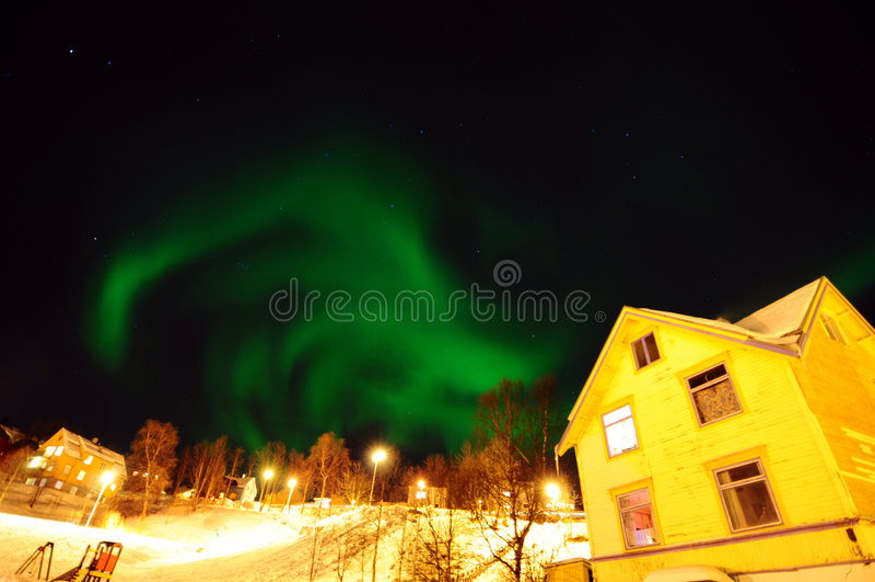 allume nordique photographie stock