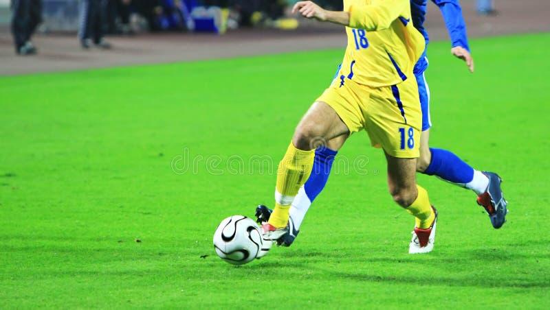 Allumette de football photos libres de droits