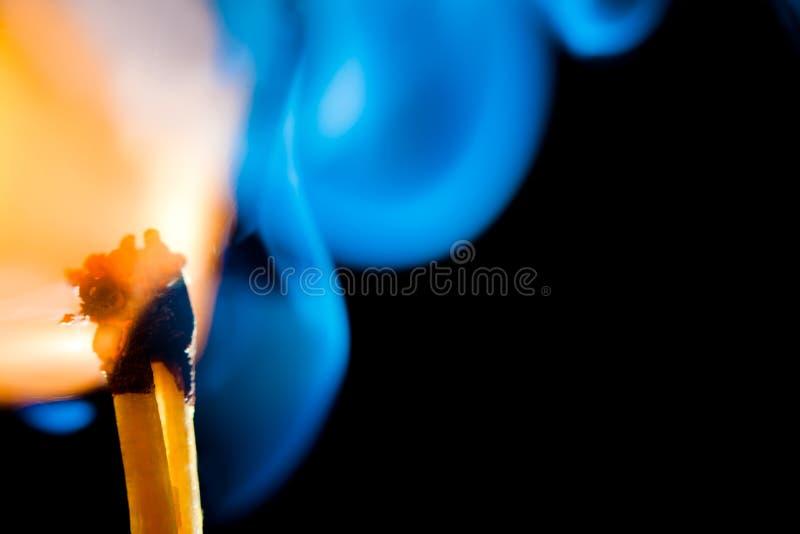 Allumette de Smokey photographie stock