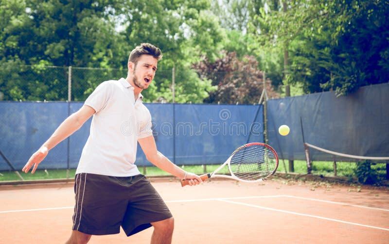 Allumette de tennis images libres de droits