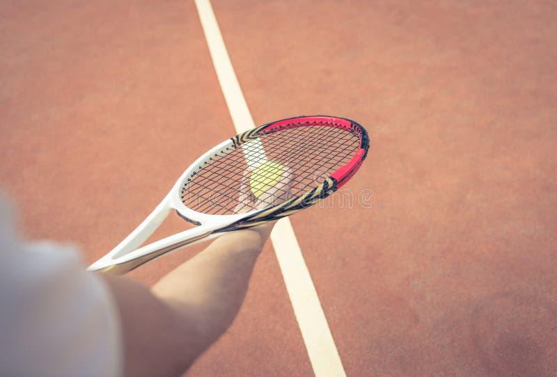 Allumette de tennis photographie stock
